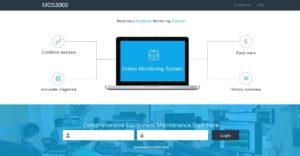 interface web sistema monitorização wireless
