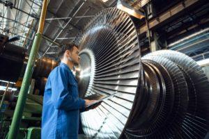 Turbinas a gás industriais e aero-derivadas