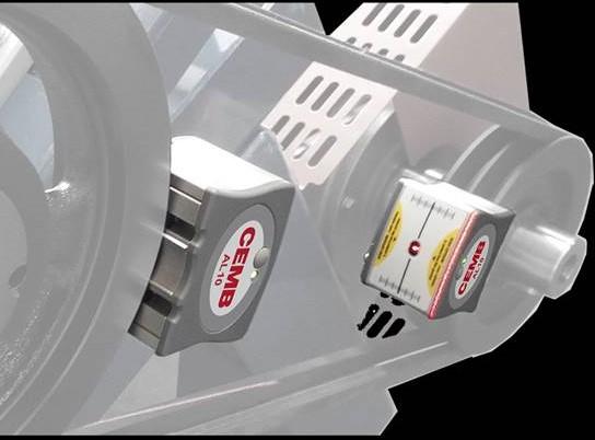 alinhador de correias laser